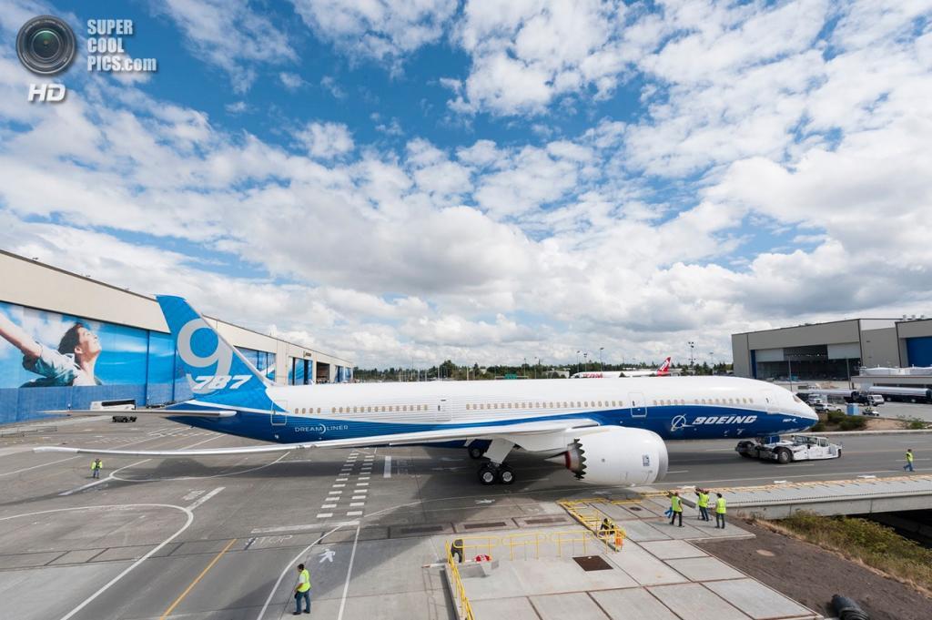 США. Эверетт, Вашингтон. Boeing 787-9 Dreamliner. (Boeing)