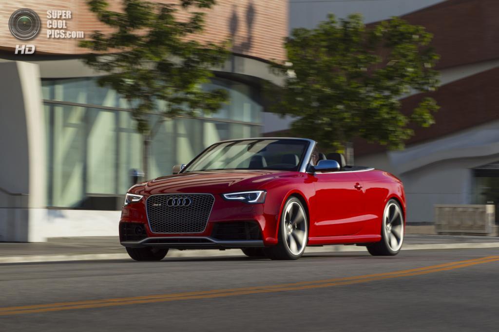 Audi RS5 Cabriolet. (Audi AG)