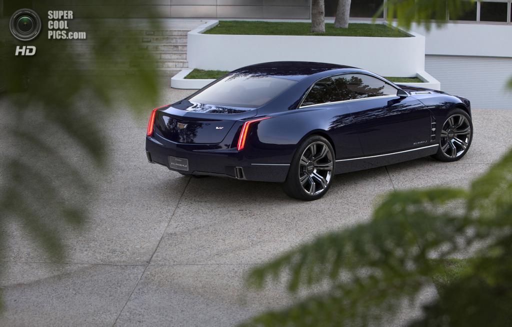 Cadillac Elmiraj Concept. (General Motors)