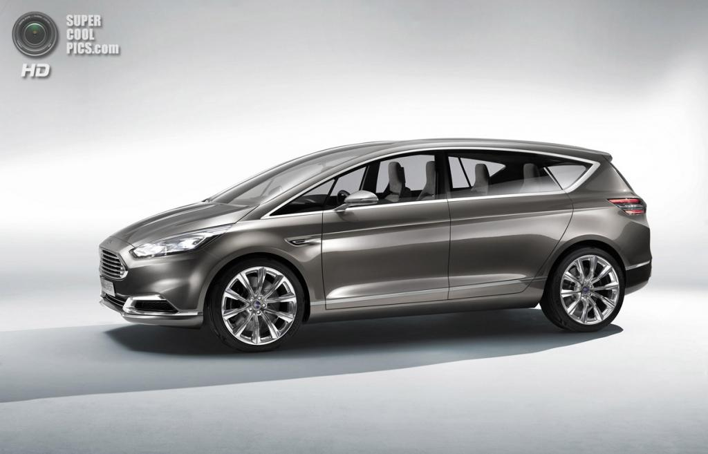 Ford S-MAX Concept. (Ford)