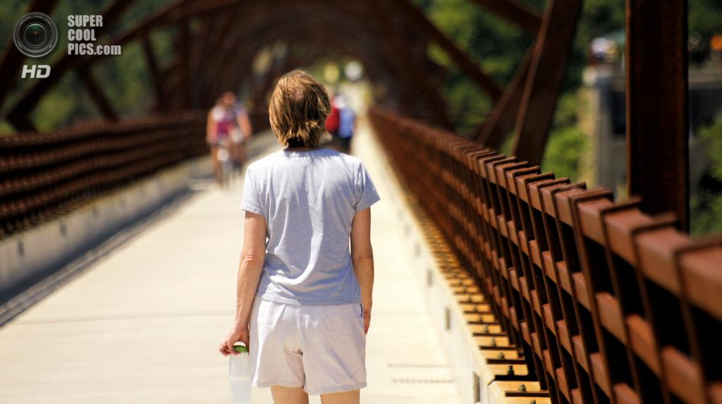 США. Айова. Мост High Trestle Trail. (Phil Roeder)