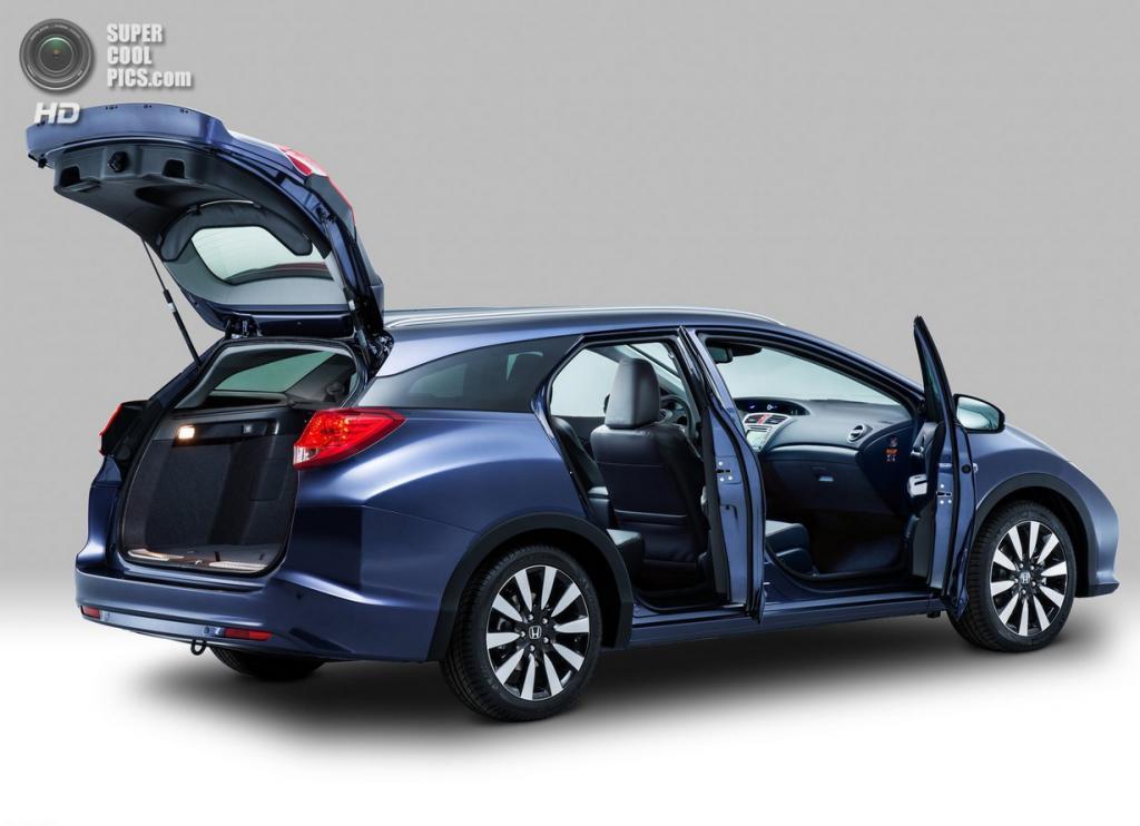 Honda Civic Tourer. (Honda Motor Company)