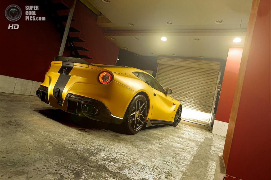 Ferrari F12berlinetta SPIA Middle East Edition. (Ferrari/DMC)