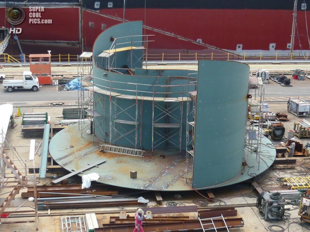 Ротор Савониуса для подводной части гибридной ветроприливной турбины SKWID. (MODEC)