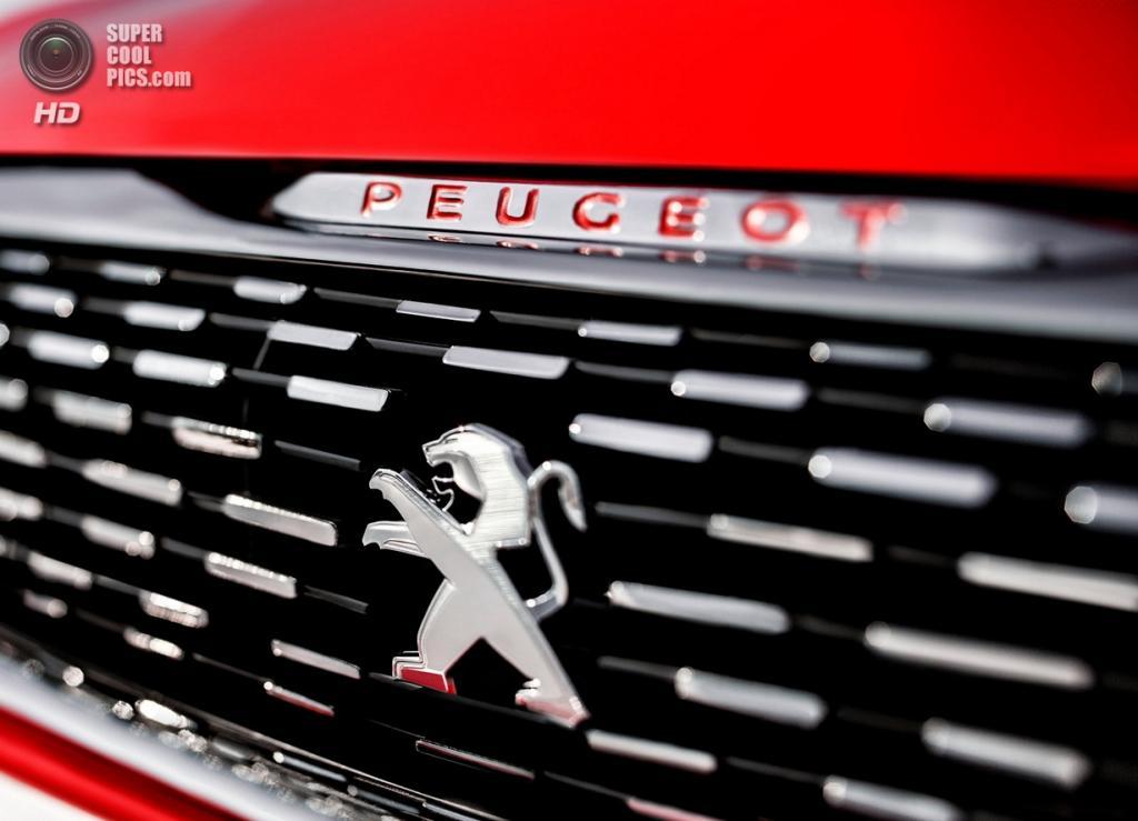 Peugeot 308 R Concept. (PSA Peugeot Citroën)