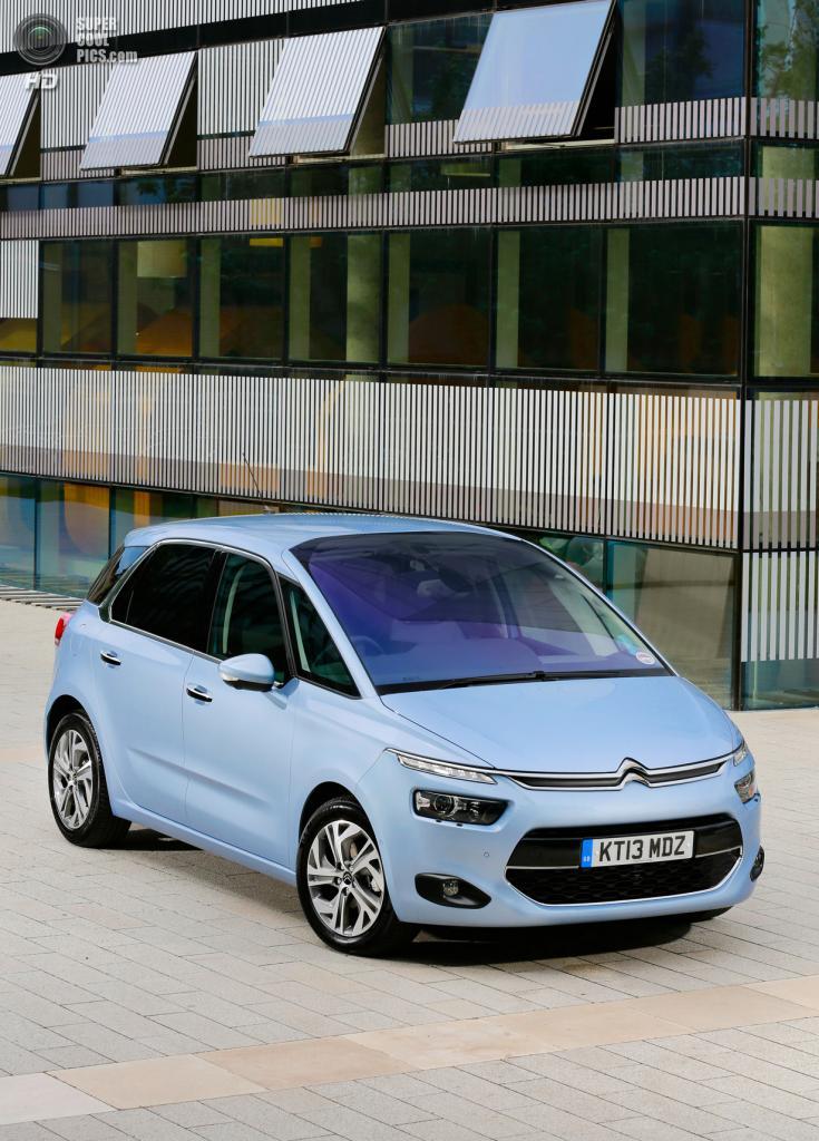 Citroën C4 Picasso. (PSA Peugeot Citroën)