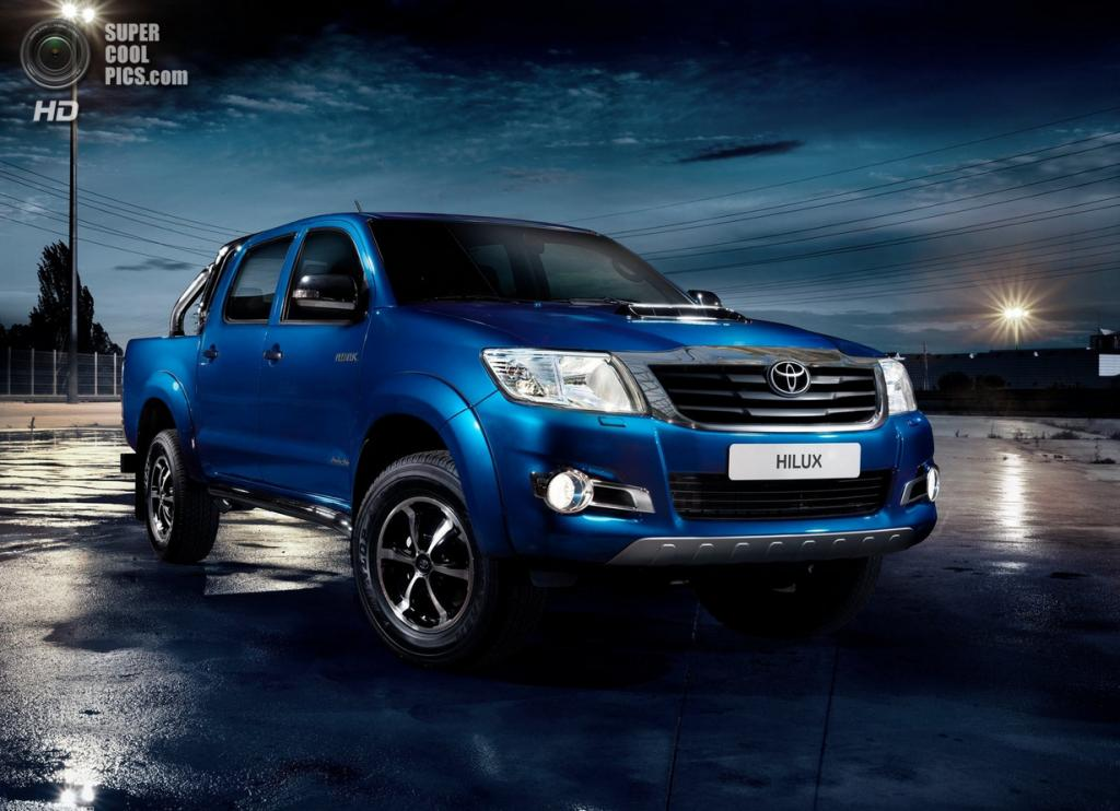 Toyota Hilux Invincible. (Toyota Motor Corporation)