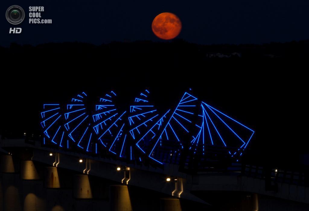 США. Айова. Мост High Trestle Trail. (Peas Creek Studios)