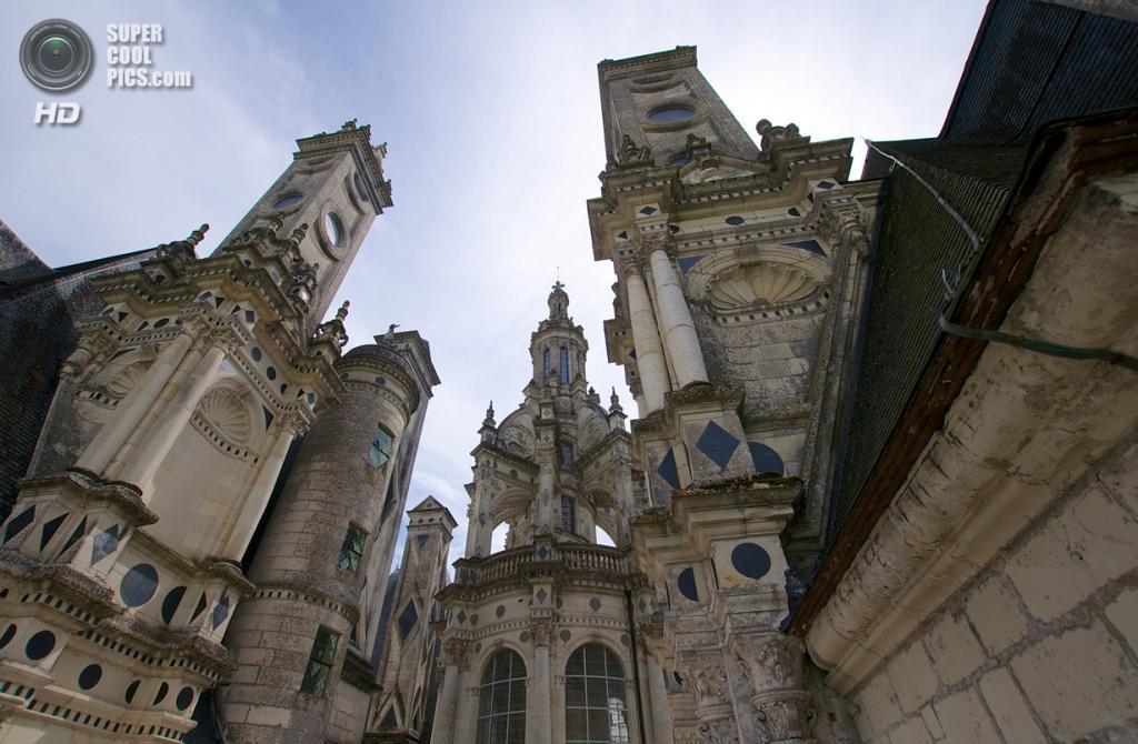 Франция. Луар и Шер. Замок Шамбор. (Jean-Christophe ROBIN)