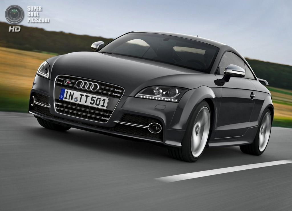 Audi TTS Coupé Competition. (Audi AG)