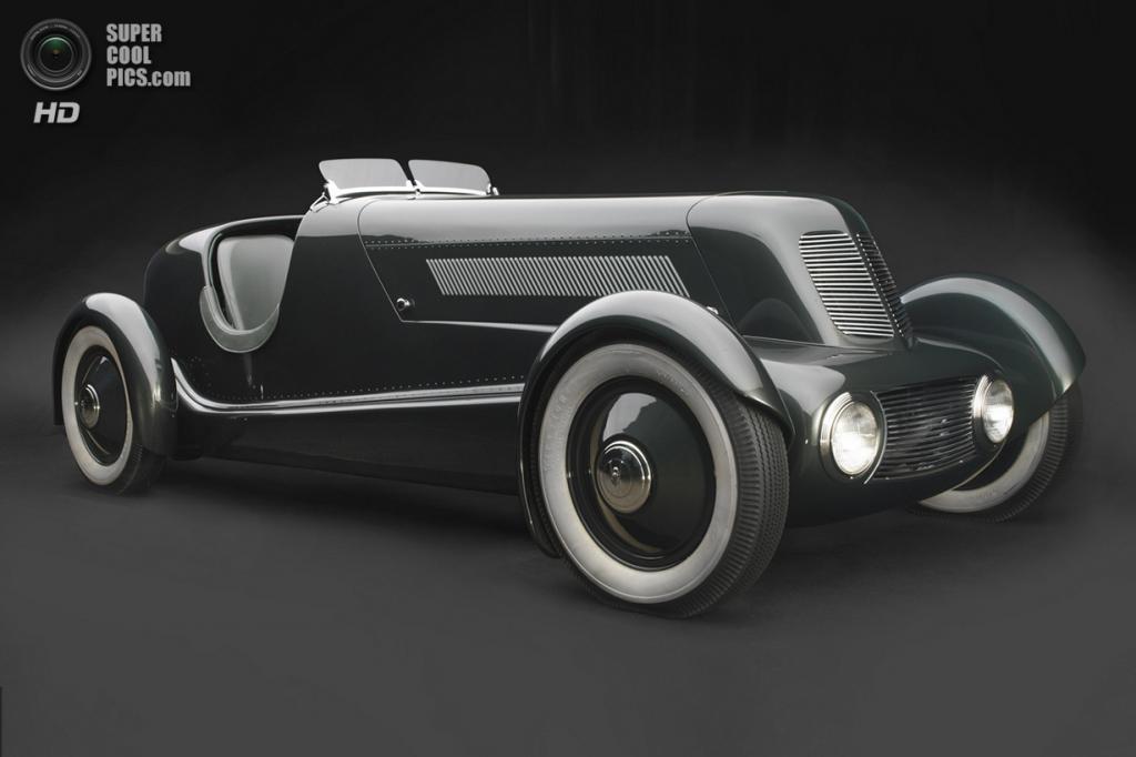 США. Нэшвилл, Теннесси. 18 августа. Ford Model 40 Special Speedster, 1934 г.в. (Peter Harholdt/Frist Center for the Visual Arts)