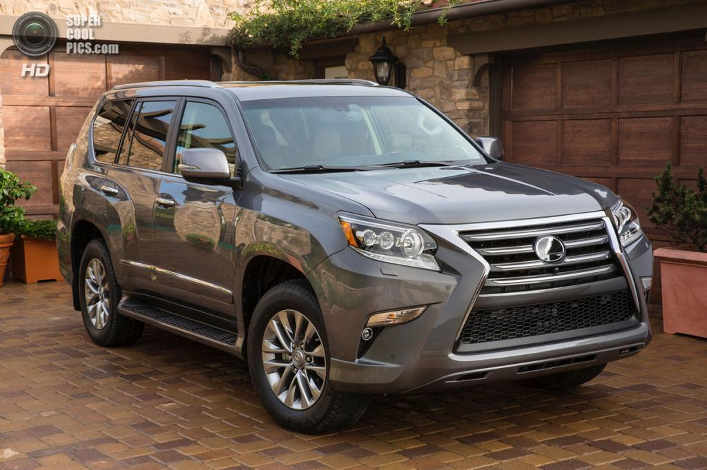 Lexus GX 460. (Toyota Motor Corporation)