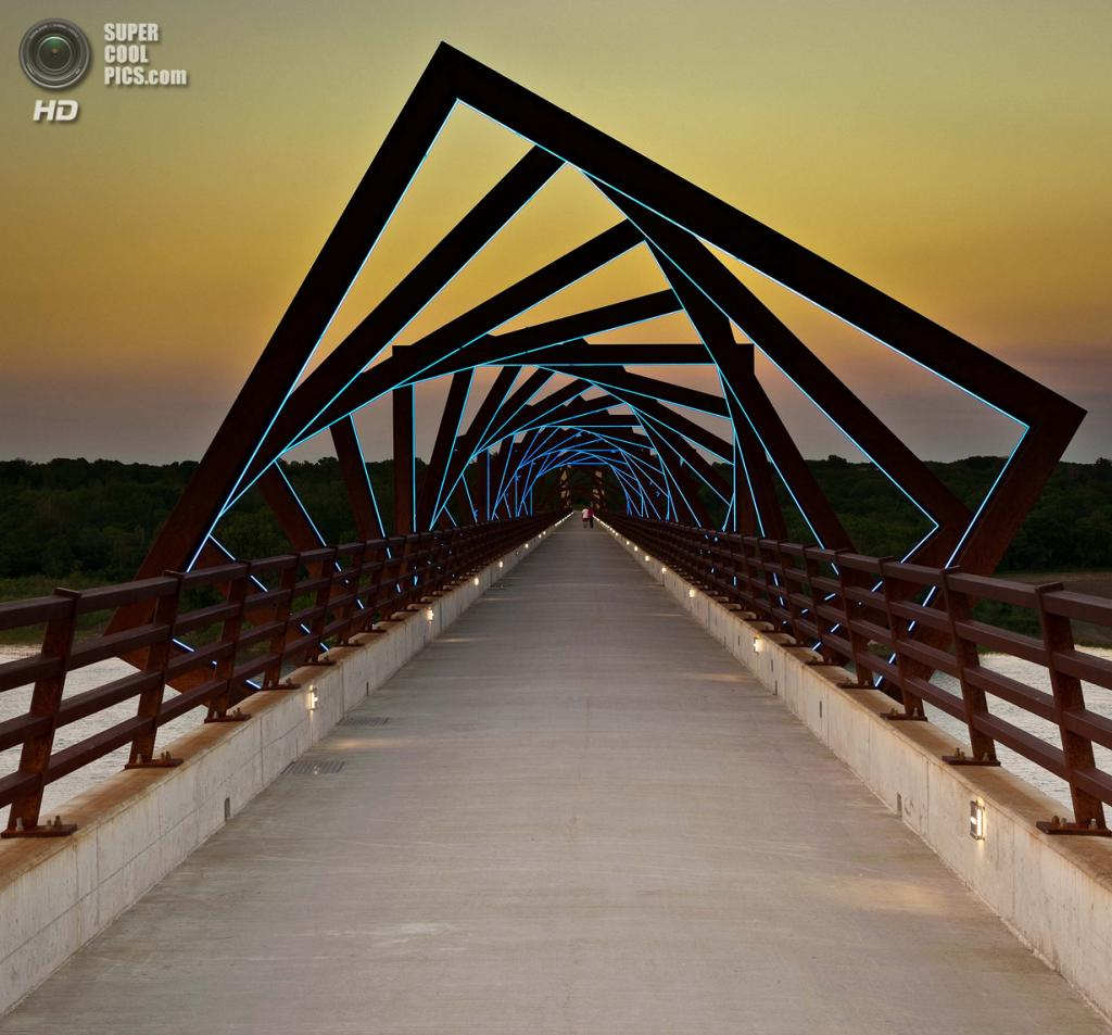 США. Айова. Мост High Trestle Trail. (Eric Beron)