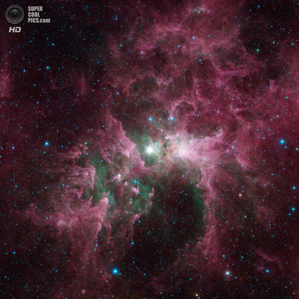 Эта Киля. (NASA/JPL-Caltech)