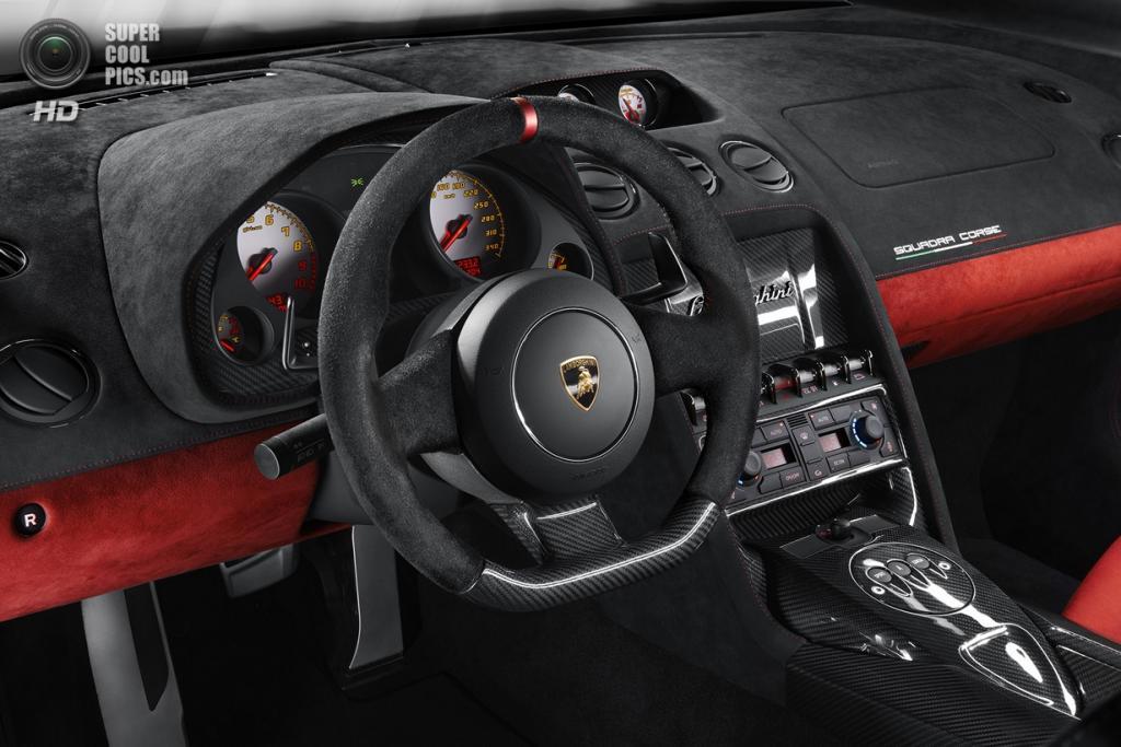 Lamborghini Gallardo LP 570-4 Squadra Corse. (Automobili Lamborghini S.p.A.)