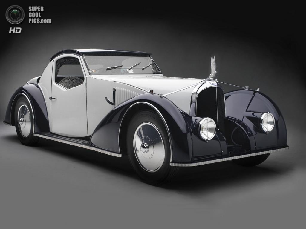 США. Нэшвилл, Теннесси. 18 августа. Voisin Type C27 Aérosport Coupé, 1934 г.в. (Peter Harholdt/Frist Center for the Visual Arts)