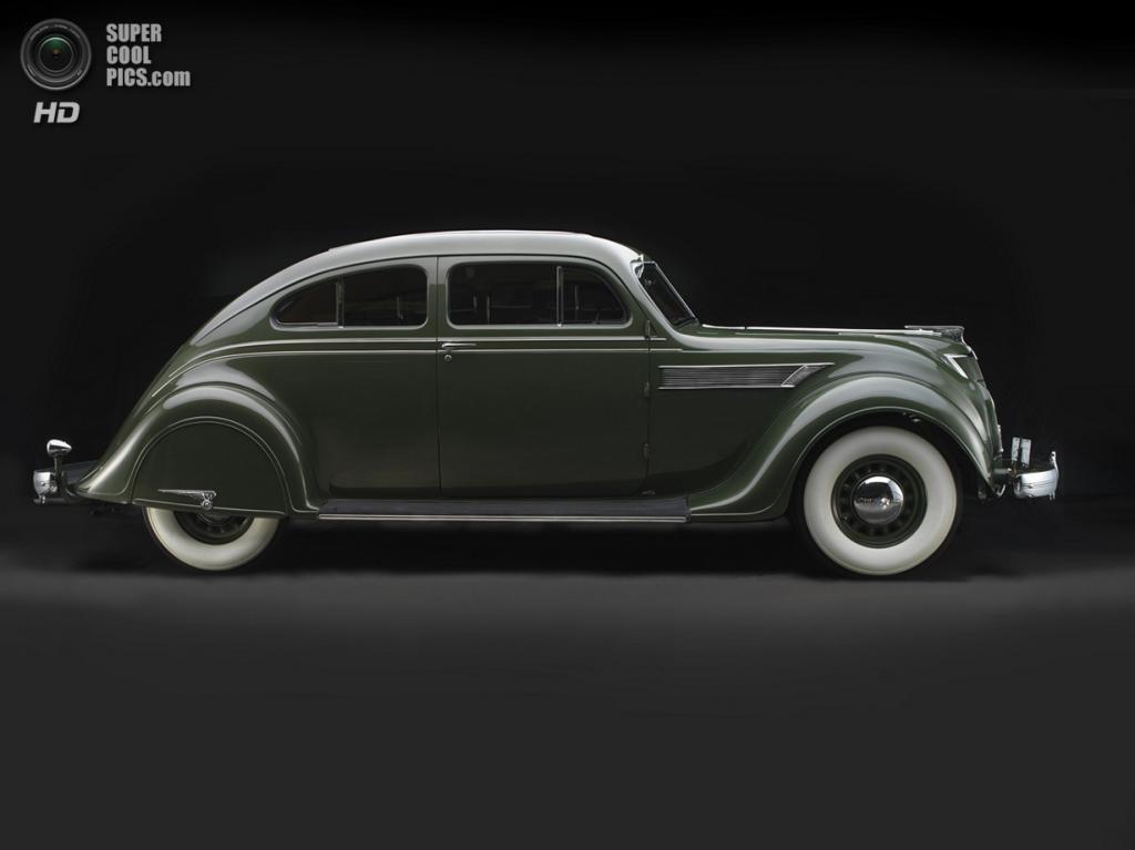 США. Нэшвилл, Теннесси. 18 августа. Chrysler Imperial Model C-2 Airflow Coupé, 1935 г.в. (Peter Harholdt/Frist Center for the Visual Arts)