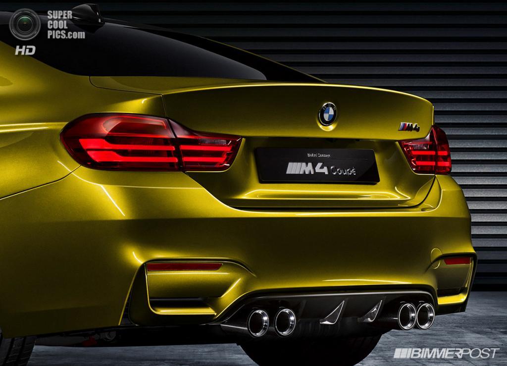 BMW Concept M4 Coupé. (BMW AG)