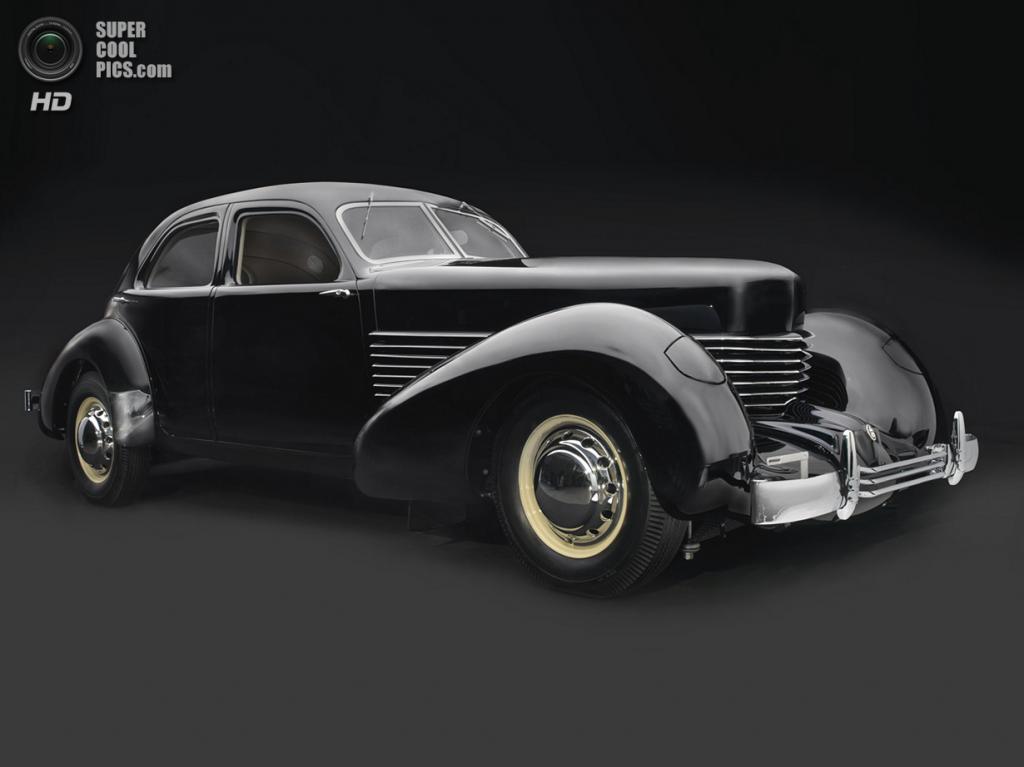 "США. Нэшвилл, Теннесси. 18 августа. Cord 810 ""Armchair"" Beverly Sedan, 1936 г.в. (Peter Harholdt/Frist Center for the Visual Arts)"