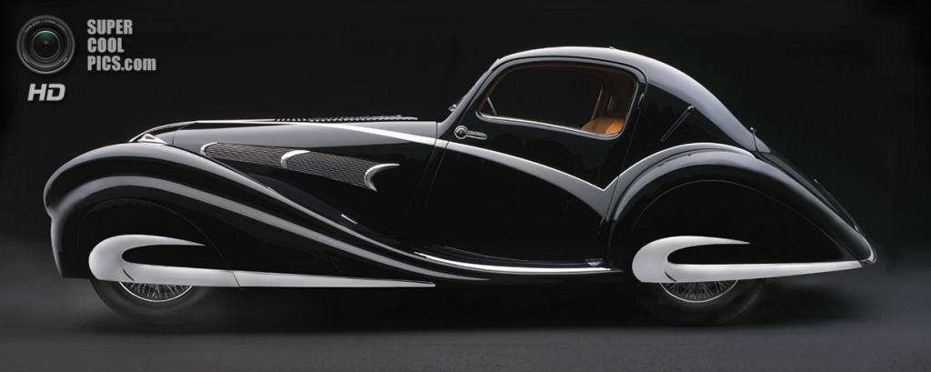 США. Нэшвилл, Теннесси. 18 августа. Delahaye 135M Figoni & Falaschi Competition Coupé, 1936 г.в. (Peter Harholdt/Frist Center for the Visual Arts)