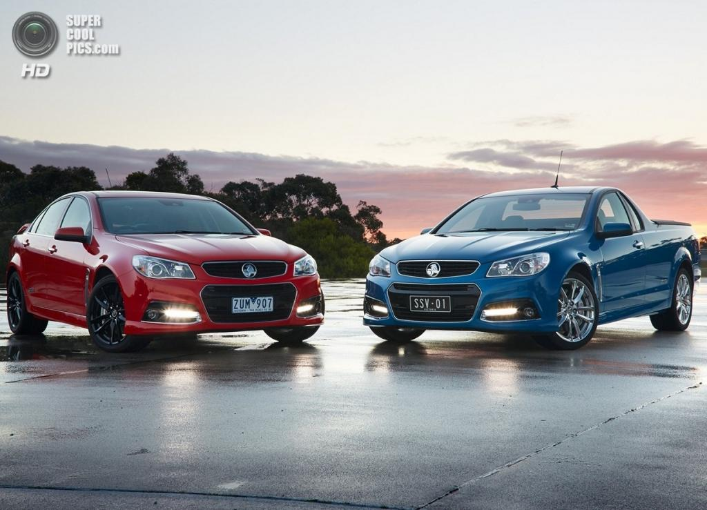 Holden VF Commodore Ute SSV Redline. (GM Holden Ltd)