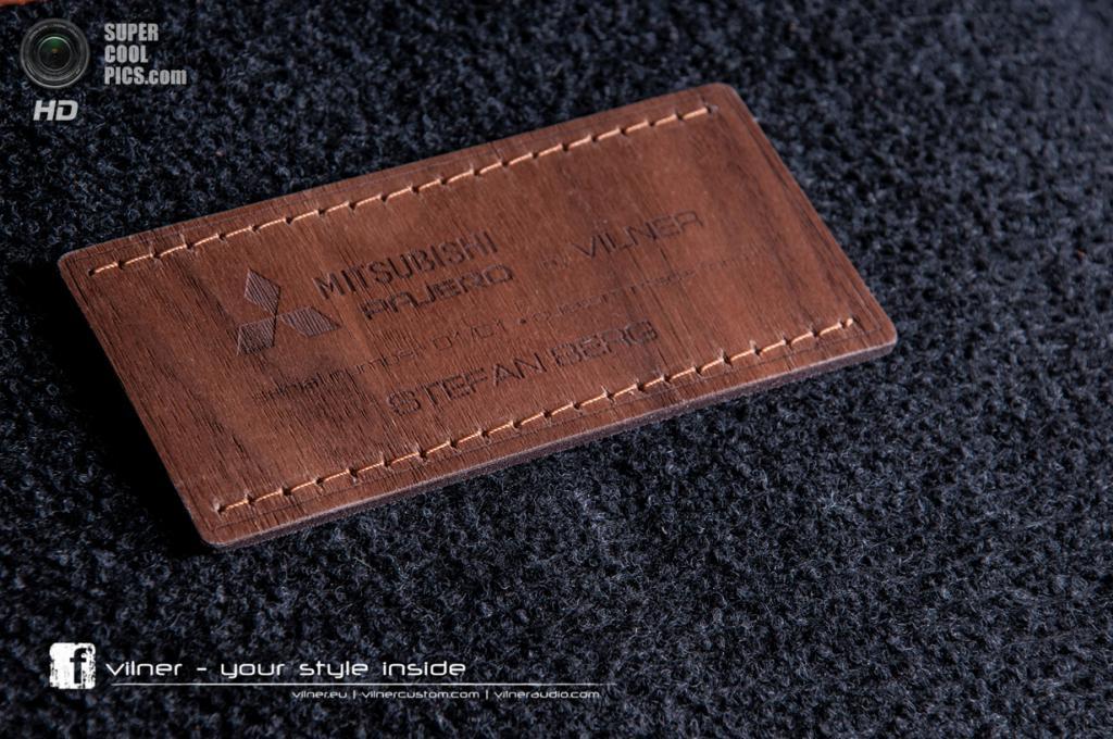 Vilner Mitsubishi Pajero. (Vilner/Mitsubishi Motors)