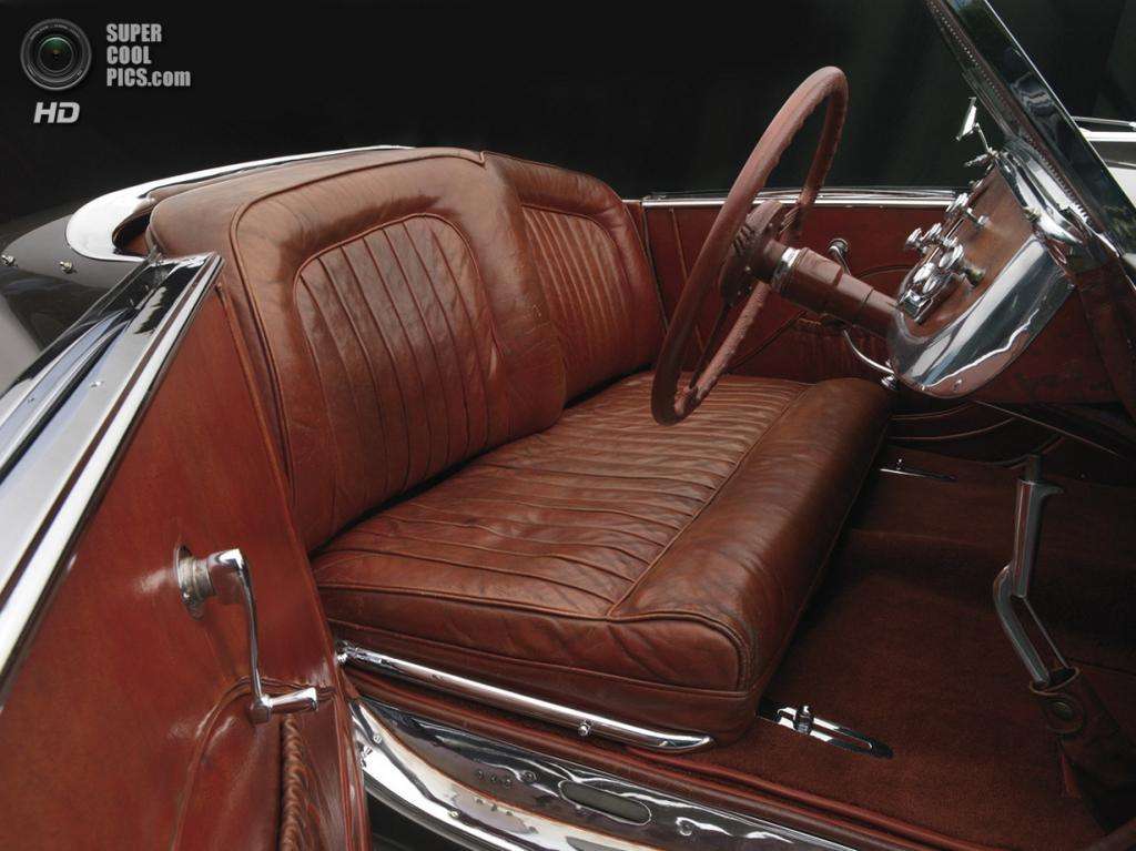 США. Нэшвилл, Теннесси. 18 августа. Delahaye 135MS Roadster, 1937 г.в. (Peter Harholdt/Frist Center for the Visual Arts)