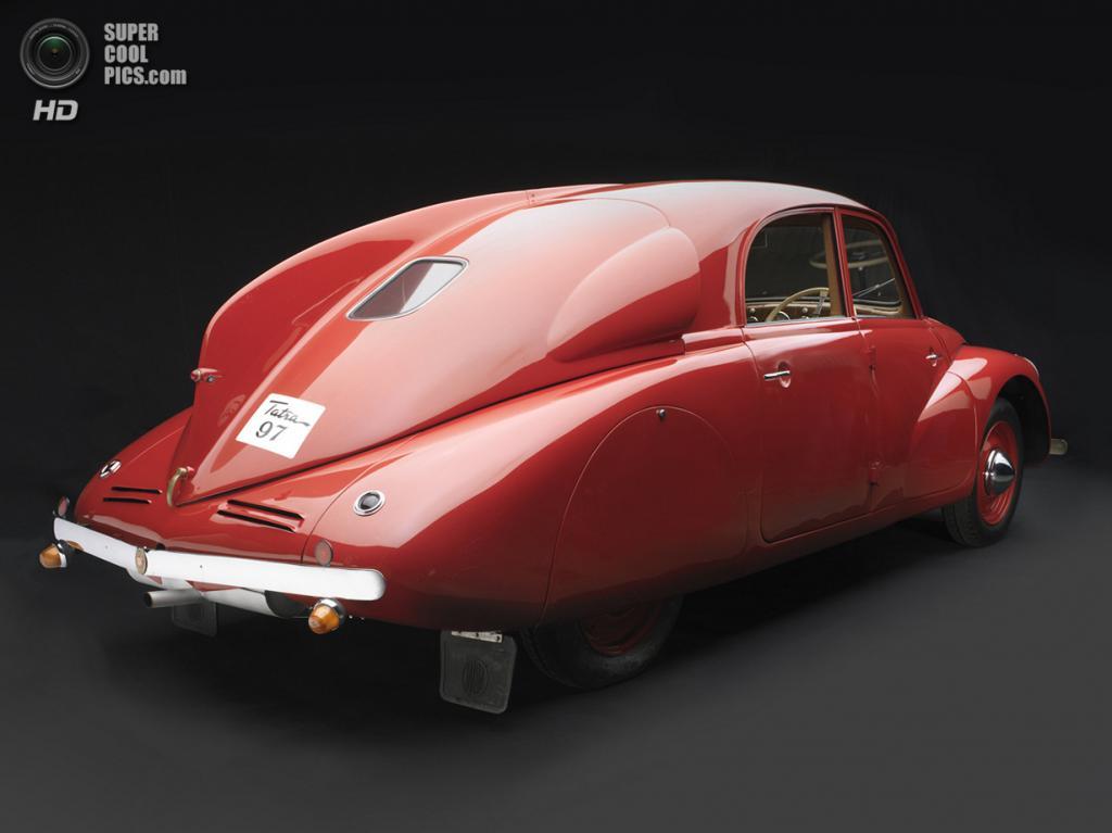 США. Нэшвилл, Теннесси. 18 августа. Tatra T97, 1938 г.в. (Peter Harholdt/Frist Center for the Visual Arts)