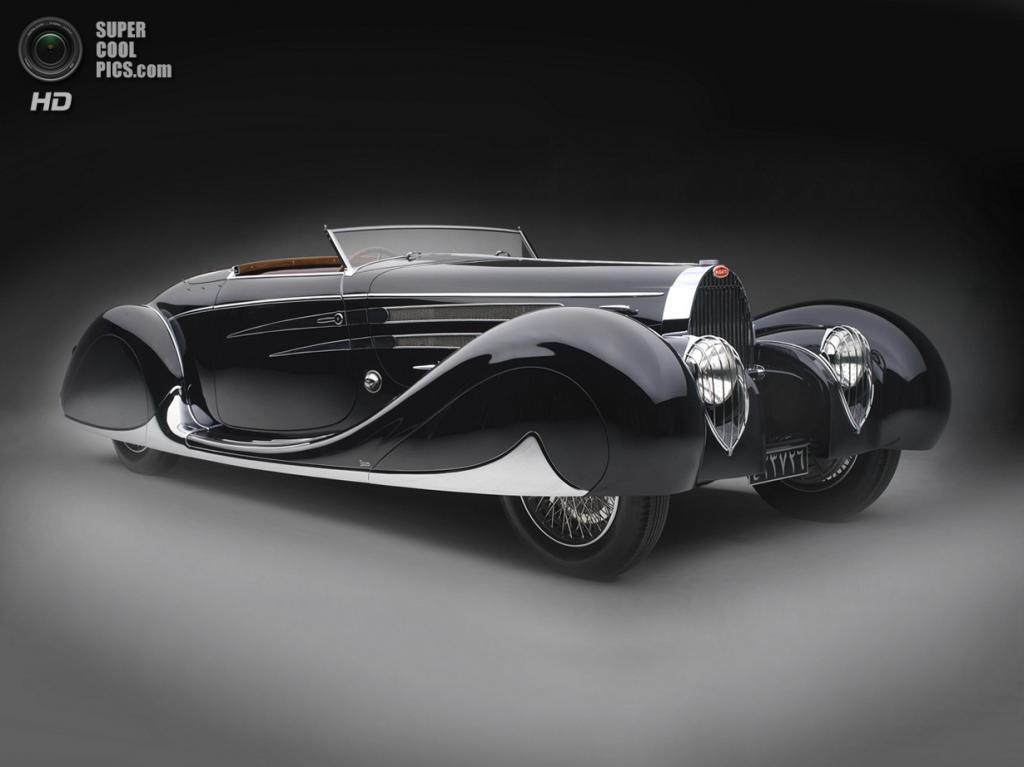 США. Нэшвилл, Теннесси. 18 августа. Bugatti Type 57C, 1939 г.в. (Peter Harholdt/Frist Center for the Visual Arts)
