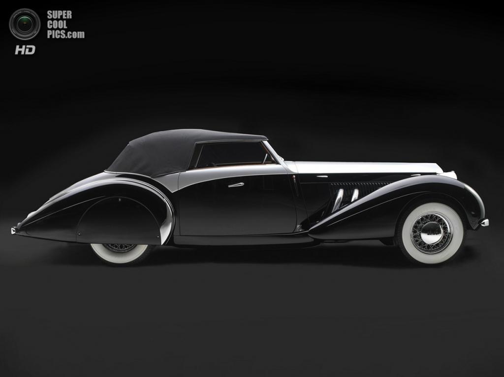 США. Нэшвилл, Теннесси. 18 августа. Delage D8-120S Saoutchik Cabriolet, 1939 г.в. (Peter Harholdt/Frist Center for the Visual Arts)