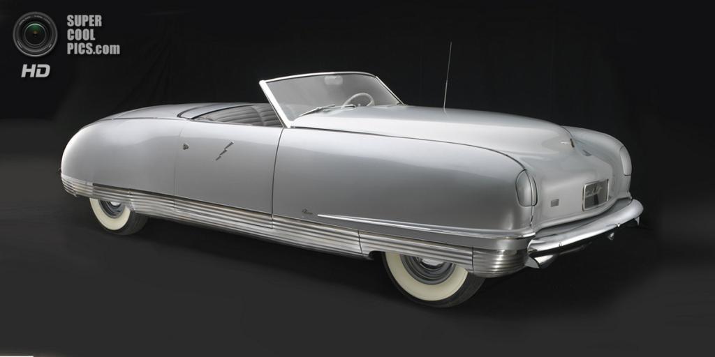 США. Нэшвилл, Теннесси. 18 августа. Chrysler Thunderbolt, 1941 г.в. (Peter Harholdt/Frist Center for the Visual Arts)