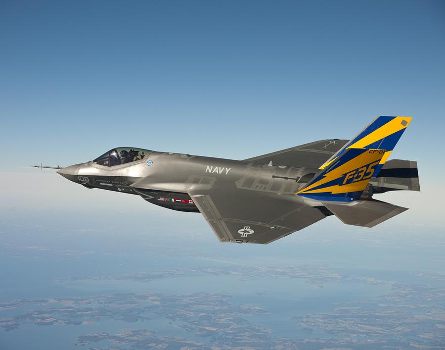 Lockheed Martin F-35C Lightning II. (U.S. Navy/Andy Wolfe)