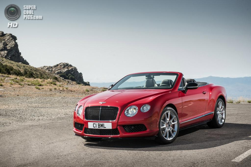Bentley Continental GT V8 S Convertible. (Bentley Motors)