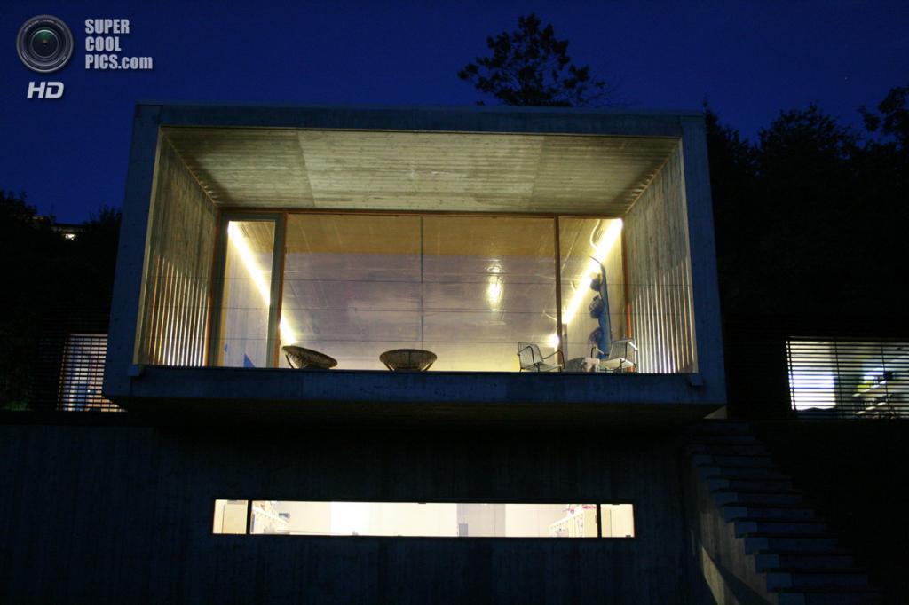 Италия. Турин. Частный дом Casa Y, спроектированный F:L Architetti. ( Fabrizio Caudana)