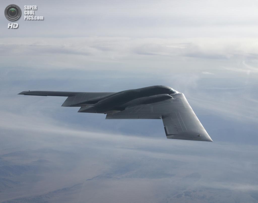 Northrop Grumman B-2 Spirit. (USAF Photo)