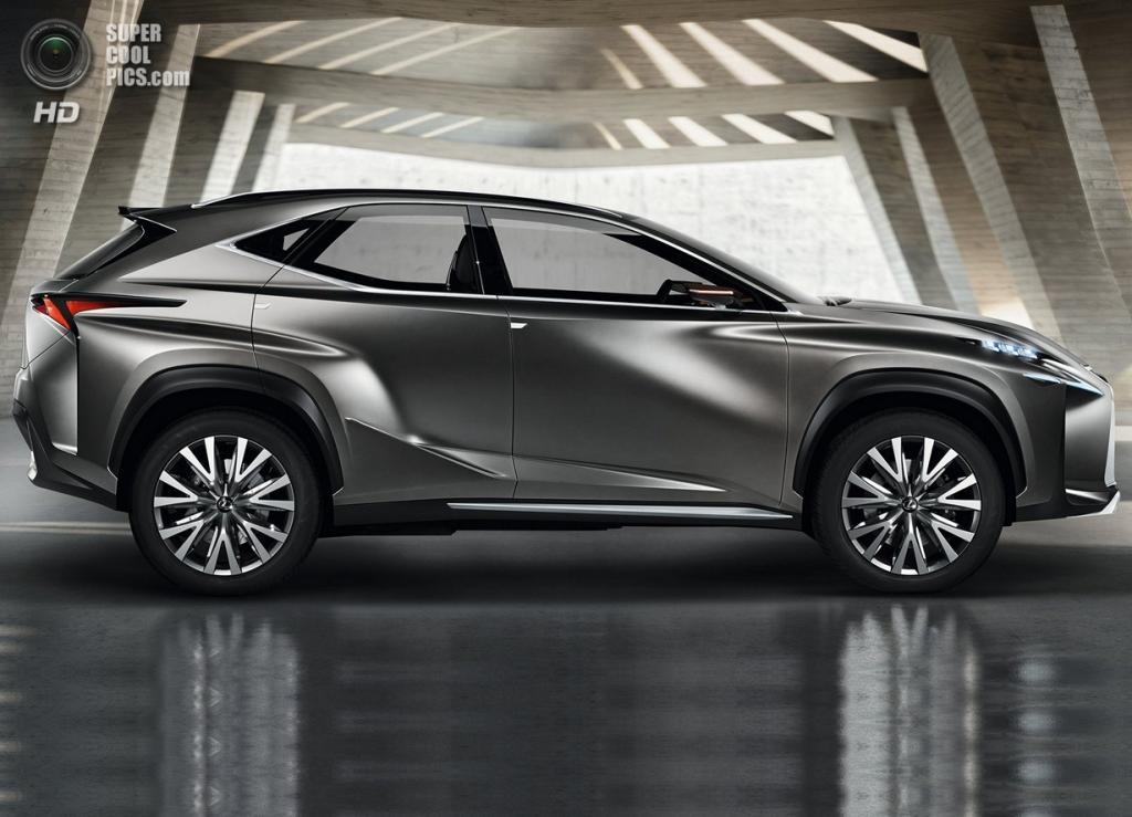 Lexus LF-NX Concept. (Toyota Motor Corporation)