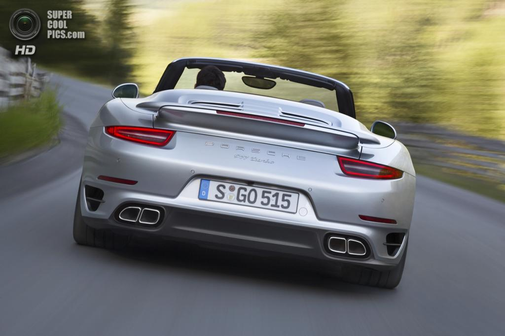 Porsche 911 Turbo Cabriolet. (Dr. Ing. h.c. F. Porsche AG)