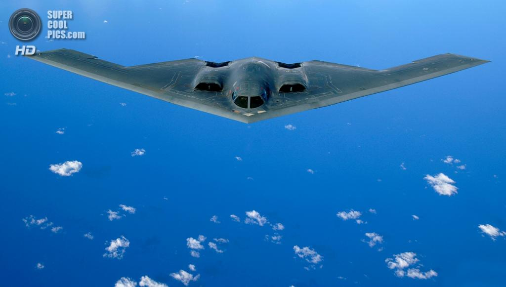 Northrop Grumman B-2 Spirit. (USAF Photo/Staff Sgt Bennie J. Davis III)