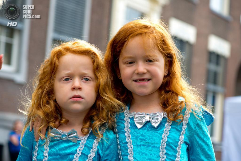 Нидерланды. Бреда, Северный Брабант. 1 сентября. Во время фестиваля «День рыжеволосых». (Mike Klaassen)