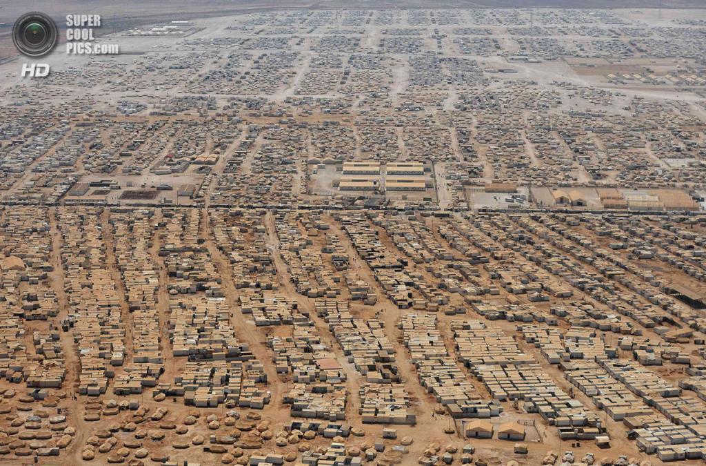 Иордания. Лагерь для беженцев «Заатари». (REUTERS/Mandel Ngan)