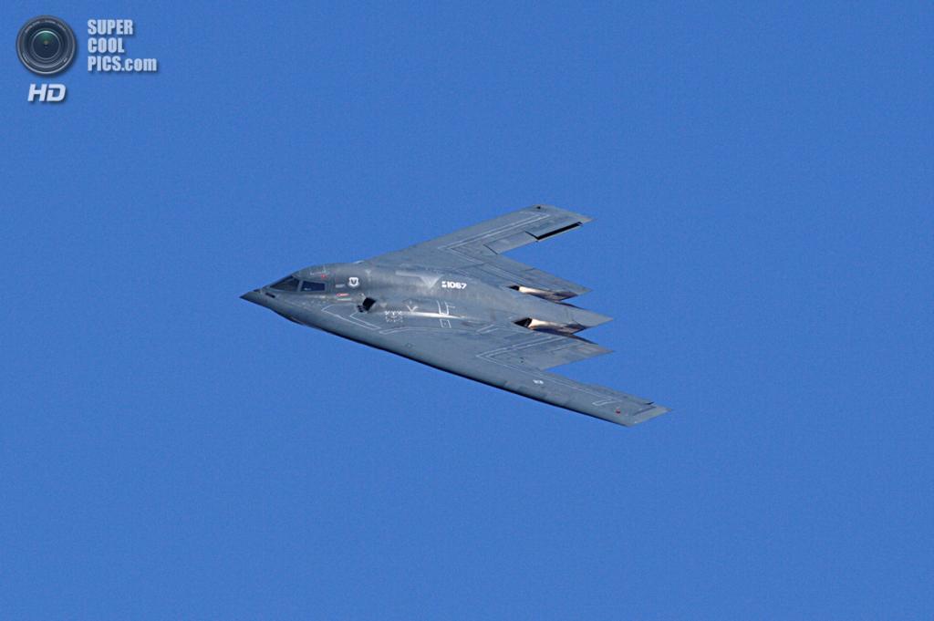 Northrop Grumman B-2 Spirit. (Michael Pereckas)