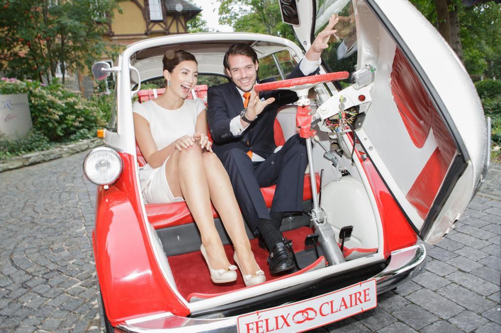 Свадьба принца Люксембургского (6 фото)