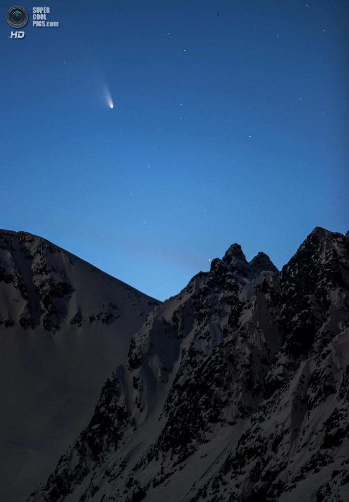 «Ледяной гость». Призёр в номинации «Земля и космос». (Fredrik Broms/Astronomy Photographer of the Year)