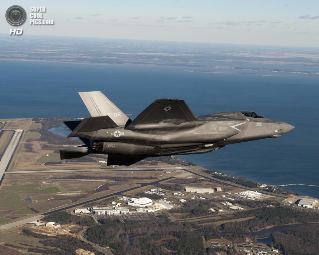 Lockheed Martin F-35B Lightning II. (Elizabeth Kaszynski)
