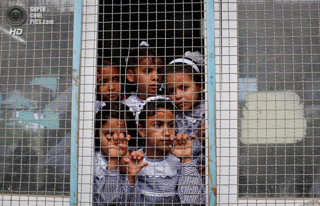 Сектор Газа. (REUTERS/Ibraheem Abu Mustafa)