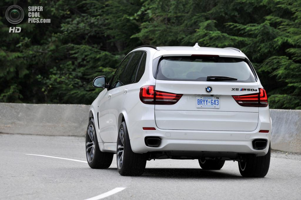 BMW X5 M50d. (BMW AG)