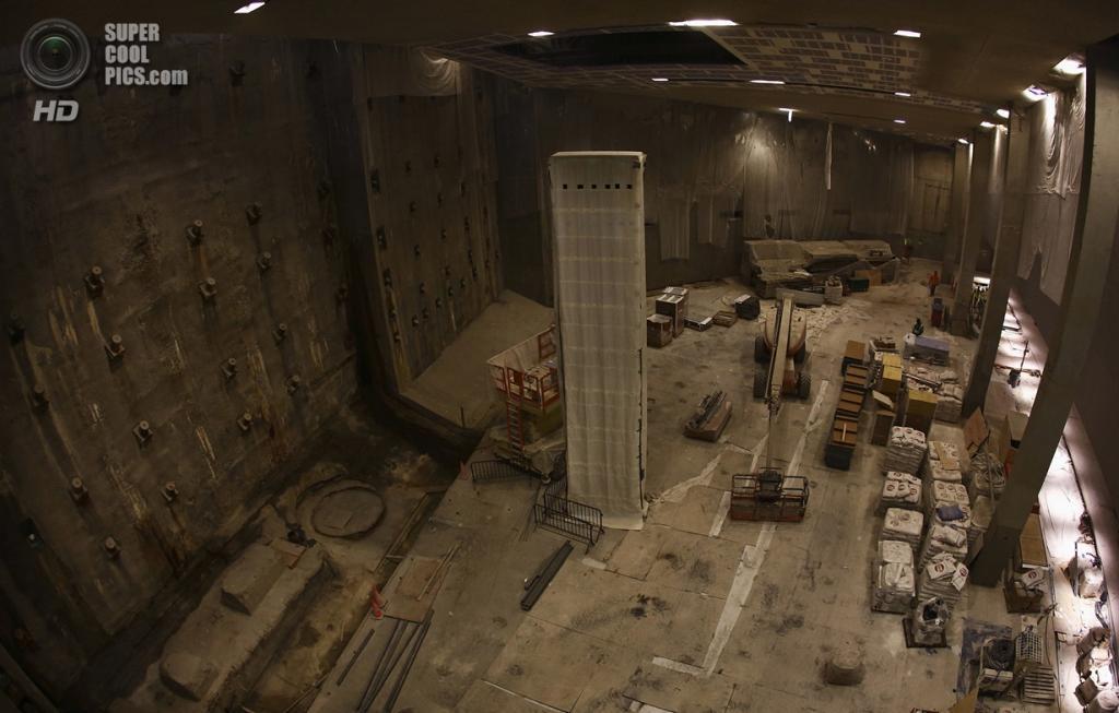 США. Нью-Йорк. Национальный мемориал и музей 9/11 в 2002 году. (Foto Reuters / Brendan McDermid)