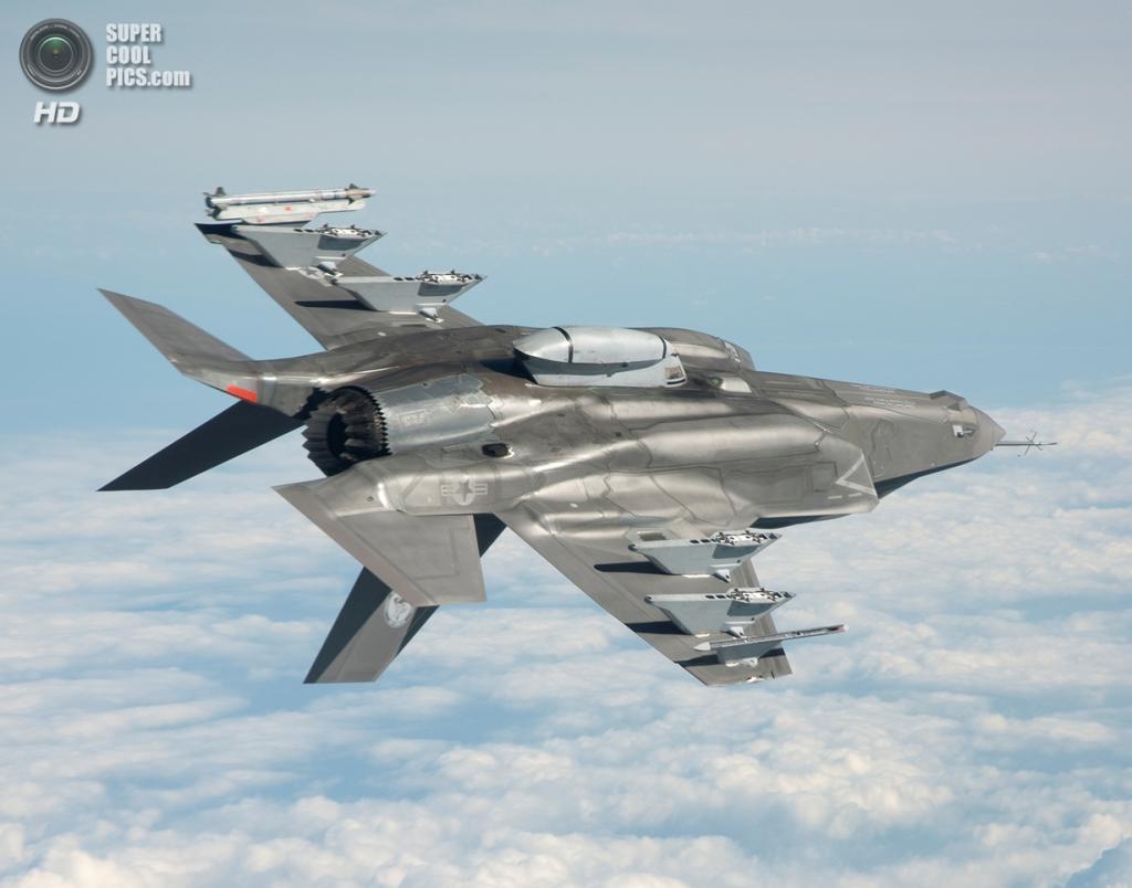 Lockheed Martin F-35B Lightning II. (U.S. Navy/Andy Wolfe)