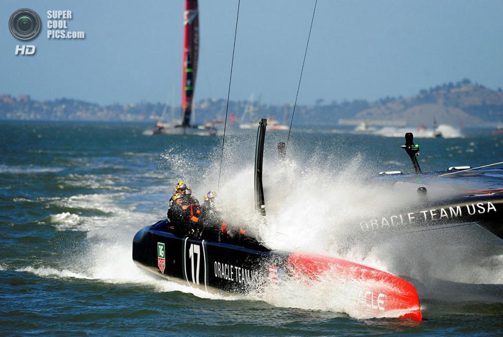 США. Сан-Франциско, Калифорния. 24 сентября. Кубок Америки 2013. (JOSH EDELSON/AFP/Getty Images)