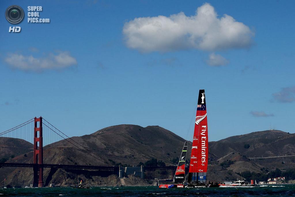 США. Сан-Франциско, Калифорния. 25 сентября. Кубок Америки 2013. (Ezra Shaw/Getty Images)